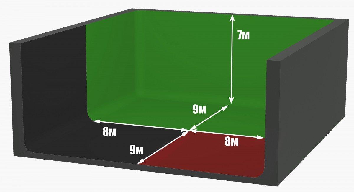 Зал 13 (450 м<sup>2</sup>)